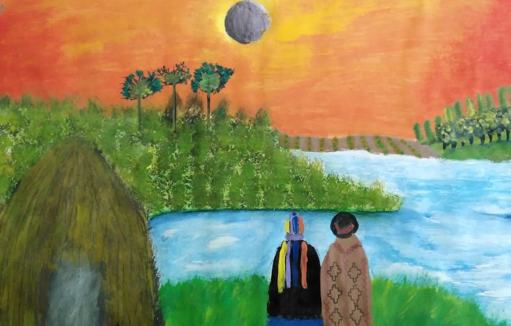 Javiera Curilaf | LBPAHC, en concurso Imagina tu eclipse