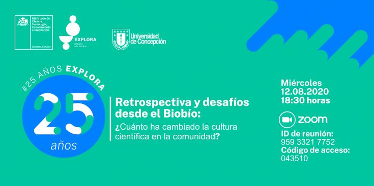 Conversatorio #25AñosExplora (banner-cabecera mail)