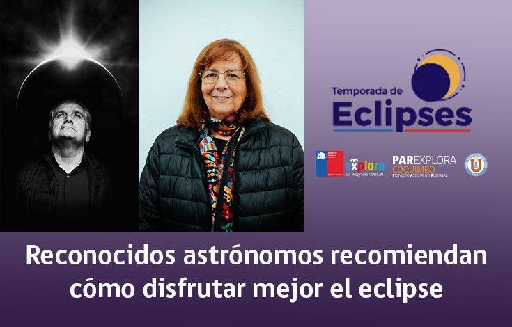 Nota astrónomo eclipse