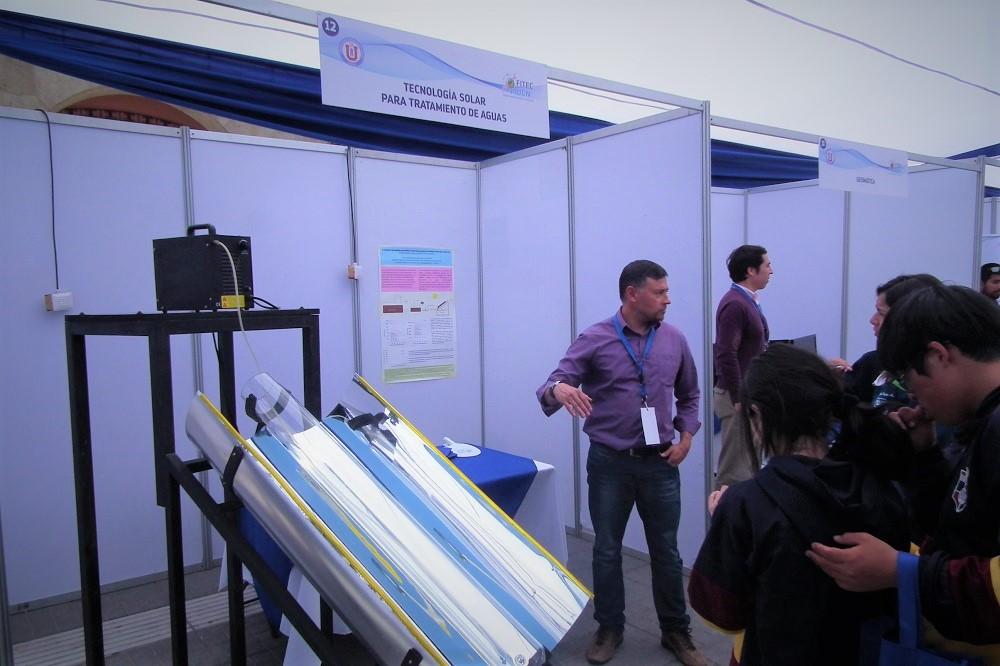 Poblete ha desarrollado diversos proyectos con el Sol como fuente energética