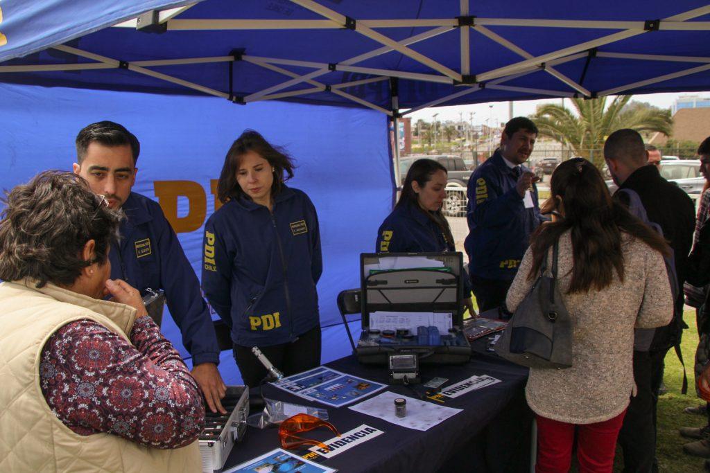 La PDI se lució en la Fiesta de la Ciencia