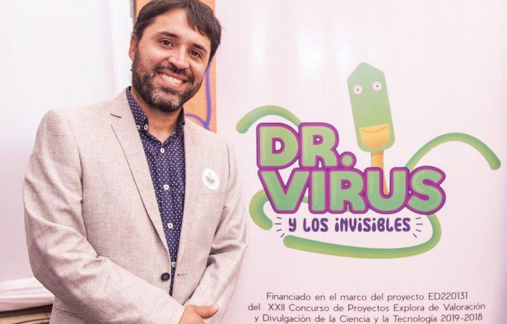 Gonzalo Barriga Director de Dr. Virus y los Invisibles