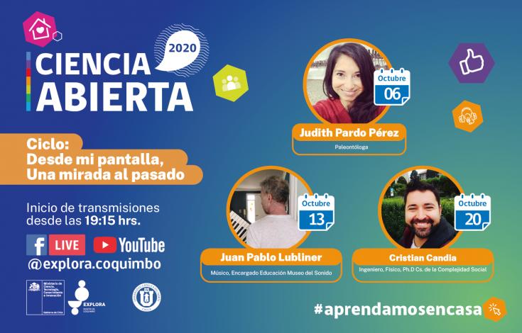 Ciclo Oct_Ciencia Abierta_Banner_Web_Ciclo de Charlas