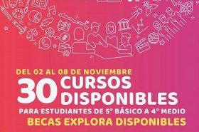 """Programa Explora otorgará becas para """"Escuela de verano"""" de la Universidad de Chile"""
