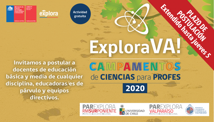Campamento 2020 NuevoPlazo7, 8-07