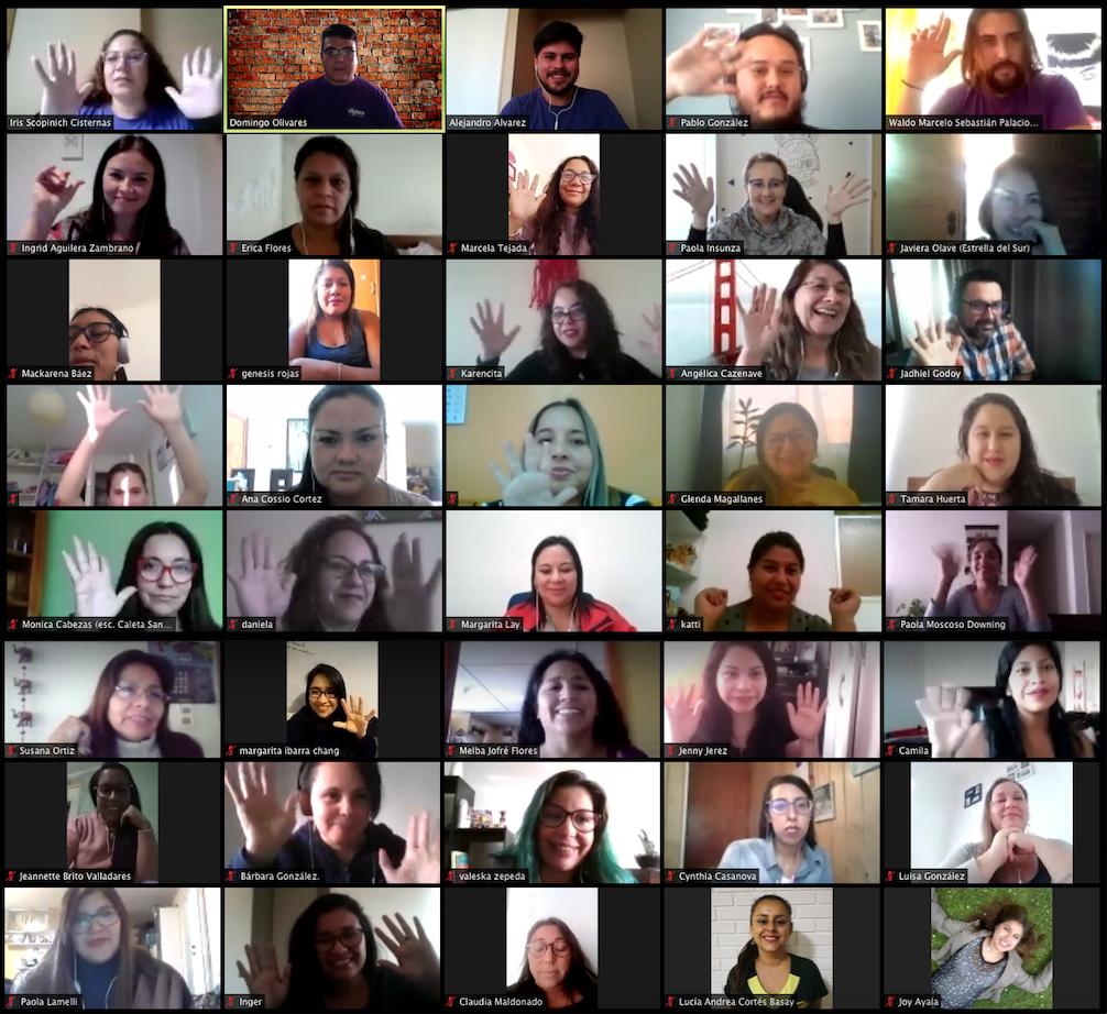 Participantes del Foro Virtual PIPE
