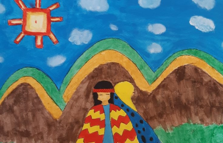 El Sol brillante mapuche - Constanza Novoa
