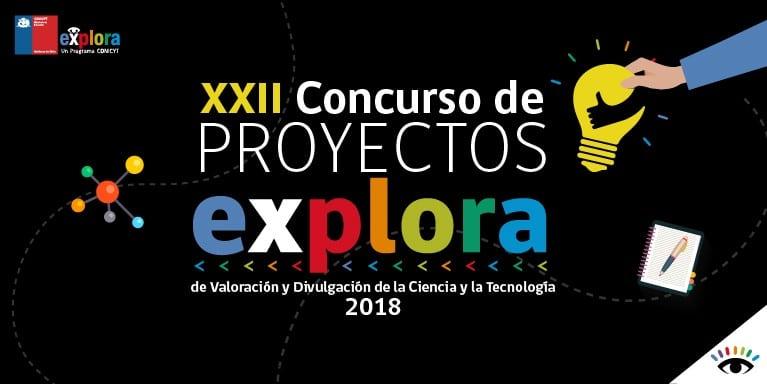 Concurso proyectos explora 2018 1