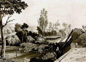 Ilustración de Valparaíso en 1824