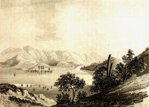 "María Graham, ""Laguna de Aculeo"", 1822"
